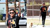 Gavin Rossdale Spotted On A Leisurely Stroll With Pup Chewy After Sparking Concern With Worrisome Quotes On Social Media...