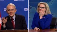SNL vs. reality: New CDC mask guidance and Liz Cheney