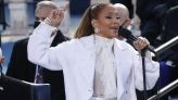 Jennifer Lopez gives moving rendition of 'This Land Is Your Land' at inauguration