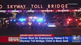 Driver Makes It To Chicago Skyway Toll Bridge After Being Shot
