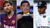 Messi's Maradona love and Hamilton misses England – Wednesday's sporting social