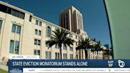 California eviction moratorium stands alone