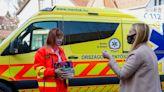 Mask, gloves, cake: Hungarians bake to keep ambulance staff going