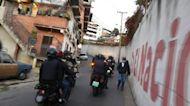 Police hunt down violators of anti-covid measures in Venezuela