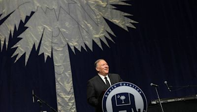 Mike Pompeo goes after Democrats in SC Republican Party speech, but goes mum on 2024