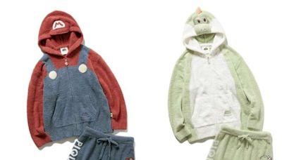 日本人氣居家服Gelato Pique&任天堂瑪利歐聯名出擊!穿上居家服和角色同樂吧~