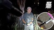 San Diego police shoot knife-wielding homeless man