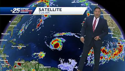Sam strengthens to hurricane, expected to become major hurricane