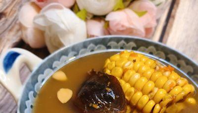 粟米紅蘿蔔淮山螺頭湯