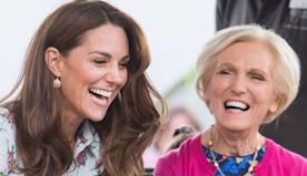 Kate dazzles in Queen's earrings as she shines on BBC's 'A Berry Royal Christmas'