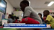 Some KY school districts plan to make masks optional