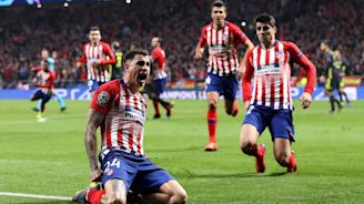 WATCH: Gimenez, Godin Score Late in Atletico Madrid's UCL Win vs. Juventus