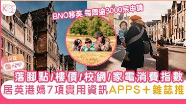 移民英國落腳點/樓價/校網/家電消費指數 居英港媽7項實用資訊推介 | 家庭生活 | Sundaykiss 香港親子育兒資訊共享平台