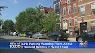 Chicago Police Post Warning Fliers About Troubled Rentals In West Town