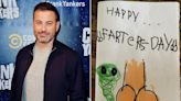 Jimmy Kimmel Shares Hilarious Father's Day Card from 6-Year-Old Daughter Jane: 'Future at Hallmark'