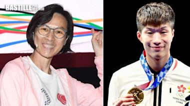 東京奧運兩代港金牌得主對談 李麗珊:等咗廿多年有人接我金牌 | 社會事