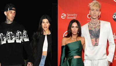 Kourtney Kardashian and Travis Barker Join Megan Fox and Machine Gun Kelly For Birthday Date Night