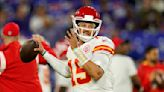 SECOND QUARTER: Mahomes touchdown pass, Mathieu's two interceptions have Chiefs in front