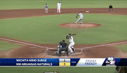 Naturals win game two