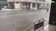 雨才下半小時! 台中潭子嚴重積水