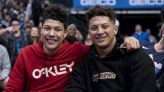 Patrick Mahomes on brother's water bottle incident: 'Something we don't want to necessarily do'