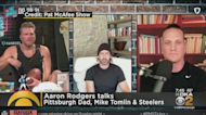 Aaron Rodgers Talks Pittsburgh On Pat McAfee Show