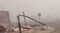 'Catastrophic, devastating' fire leaves California town in ruins