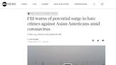 【錯誤】傳言引述美國媒體報導指出:「美國 FBI已經警告我們華人區,將會有暴動,因為美國有六十萬的無業流氓,最近監獄又釋放很多罪犯出來...他們會出來生事、暴動搶劫,向我們華人下手」?