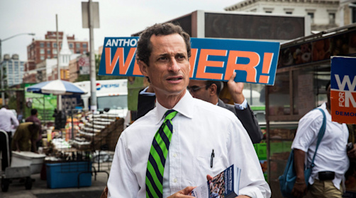 U.S. seeks up to 27 months in prison for ex-Congressman Anthony David Weiner