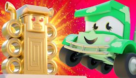 Truck Games - The ancient civilization - Truck Cartoons for kids