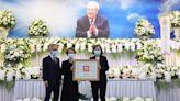 總統親頒褒揚令 表彰許水德對國家貢獻