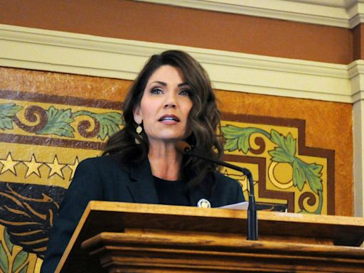 Kristi Noem's grandmother died in a nursing home hit by COVID-19 as the South Dakota governor continued to downplay the virus