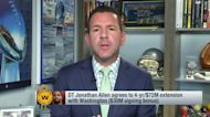 Rapoport: Washington Football Team, Jonathan Allen agree to 4-year, $72M extension
