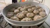 手工製作 綿密鬆軟的芋頭粿