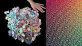 檢視你對色調的敏感度!「CMYK漸層色拼圖」1000片上還有密集點點,完成後美得像藝術品啊