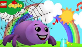 LEGO DUPLO - Itsy Bitsy Spider Song | Animal Songs | Nursery Rhymes and Kids Songs - ABCs and 123s