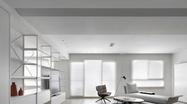 讓人心動的白色陽光宅!材質紋理與風格物件,勾勒漸層美學的生活品味