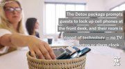 Hotels and restaurants are offering 'digital detox' discounts to encourage guests to unplug