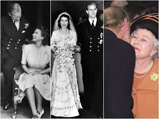 20 photos show how the Queen and Prince Philip's relationship has changed through the years