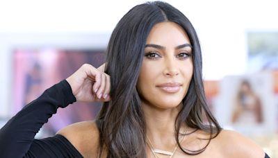 Kim Kardashian Wears Revealing Monokini In Steamy Work Out Pic