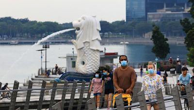 新加坡單日新增5324人確診 再創新高