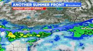 Another hot day with scattered showers possible