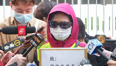 潘曉穎母親稱下周政總外開記者會 邀陳同佳出席