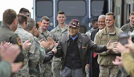 Tuskegee Airman celebrates 100th birthday with flight