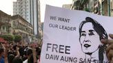 【緬甸政變】軍方持續封鎖網路 仰光上千民眾上街要求釋放翁山蘇姬