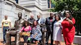 George Floyd statue unveiled at Newark City Hall in New Jersey weighs 700 pounds