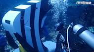 新潛水景點 綠島尖翅燕魚母子郵筒啟用