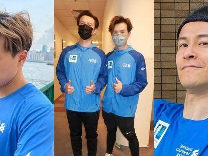 陳健安梁釗峰參加馬拉松 練跑兼錄新碟望年底推出