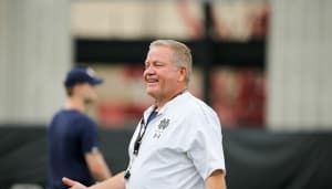 What tying Knute Rockne's Notre Dame wins record would mean to Brian Kelly
