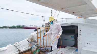 台南查獲涉走私漁船6染疫 2外籍男為Delta病毒